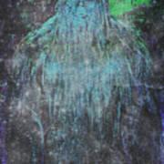 Alien Bigfoot Art Print