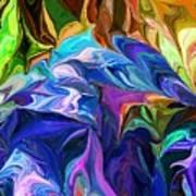 Alien Jungle Flora Art Print