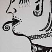Alien Lick Art Print