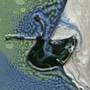 Alien Ocean Sigil Art Print