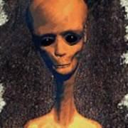 Alien Portrait Art Print