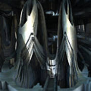 Alien Sanctuary Art Print