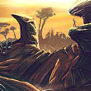 Alien Territory Art Print