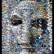 Alien Ufo Mosaic Art Print