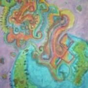 Alien Universe Art Print