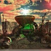 Alien World 2 Print by Jim Coe