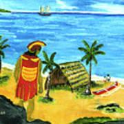 Alihi Hawaiian For Chief #57 Art Print