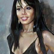 Aliya    Art Print