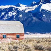 All American Barn Art Print