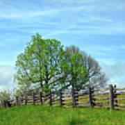 All Fenced In Along The Blue Ridge Parkway Art Print