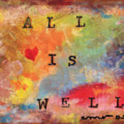 All Is Well 2 Art Print