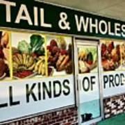 All Kinds Of Produce Art Print