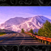 All Roads Lead To The Mountain Art Print