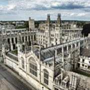 All Souls College - Oxford University Art Print