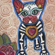 All Souls Day Aztec Art Print