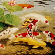 All That Make Sluices And Ponds For Fish Art Print