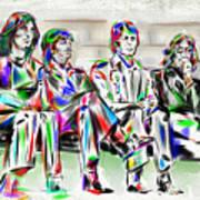 Beatle Love Art Print