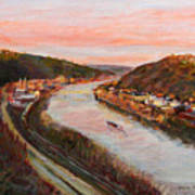 Allegheny Valley Art Print by Martha Ressler