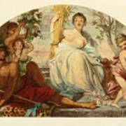 Allegory Of Agriculture Art Print