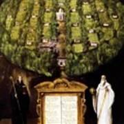 Allegory Of Camaldolese Order 1600 Art Print