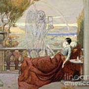 Allegory Of Tuberculosis, 1912 Art Print