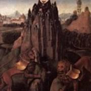Allegory With A Virgin 1479 80 Hans Memling Art Print