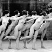 Allen Chorus Line, 1920 - To License For Professional Use Visit Granger.com Art Print