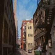 Alley 3rd Ward Art Print