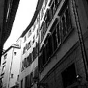 Alley In Florence Art Print