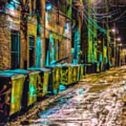 Alley In Uptown Chicago Dsc2687 Art Print