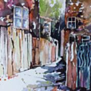 Alleyway Passage Art Print