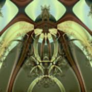 Allien Portal Art Print