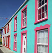 Allihies Streetscape West Cork Art Print