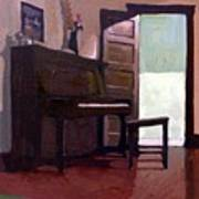 Allison's Piano Art Print