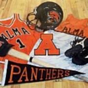 Alma High School Athletics Art Print