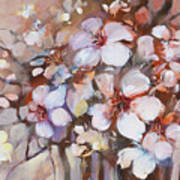 Almonds Blossom  2 Art Print