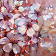 Almonds Blossom  6 Art Print