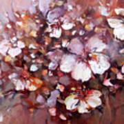 Almonds Blossom  7 Art Print
