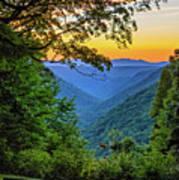 Almost Heaven - West Virginia 3 Art Print