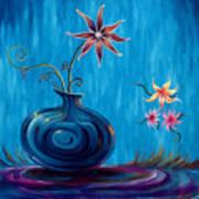 Aloha Rain Art Print by Jennifer McDuffie