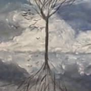 Alone Tree Art Print