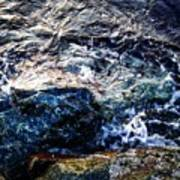 Alone With Sea Art Print