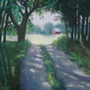 Along Kelderhouse Road Art Print