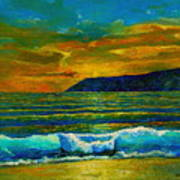 Along The African Coast Art Print