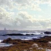 Along The Coast Art Print