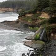 Along The Oregon Coast - 7 Art Print
