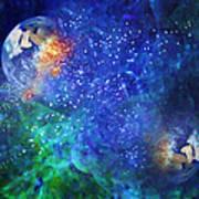 Alpha Centauri Abstract Moods Art Print