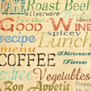 Alphabet Soup-a Art Print