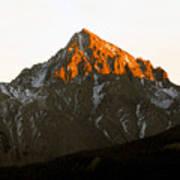 Alpine Glow Art Print