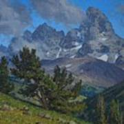 Alpine Sentinels Art Print